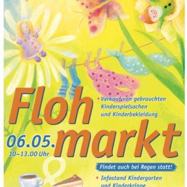 Flohmarkt in der Gänsweide am 06.05.2017
